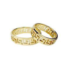 Obrączki ślubne greckie ( złoto pr. 585 )