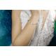Bransoletka sznurkowa serduszko ,kółko - kolekcja Amour