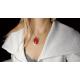 Broszko - wisiorek Red loveliness