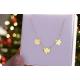 Naszyjnik celebrytka kółko,serce,gwiazdka ze złota pr.333